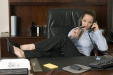 Business Call Stock Photography