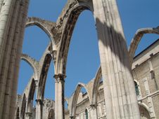 Free Lisboa S Cathedral Remainings Stock Photos - 540513