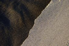 Ripped Sand Textures Stock Photo