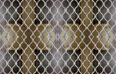 Free Marseille Gated Pattern Royalty Free Stock Photo - 541005