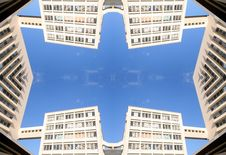 Free Marseille Building Pattern Royalty Free Stock Photography - 541097