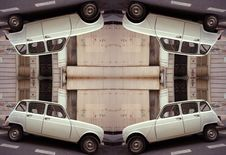Free Renault Four Pattern Stock Photos - 541103