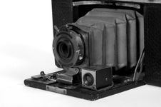 Free Old Camera With Bellows Royalty Free Stock Images - 541309