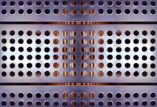 Free Metal Holes Urban Detail Stock Photography - 541332