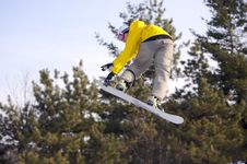 Free Snowboarder Royalty Free Stock Photography - 541897