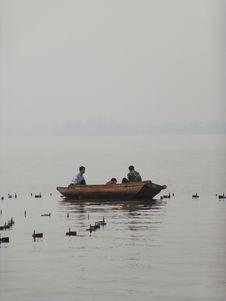 Free Chinese Fishermen Stock Image - 542411