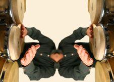 Drummer Pattern Stock Photos