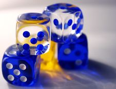 Free Colorful Dice Stock Photography - 543042