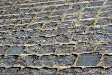 Free Cobblestone Road Stock Image - 544221