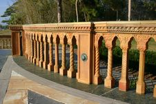 Free Mediterranean Railing Royalty Free Stock Photography - 544347