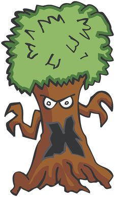 Free Monster Tree Stock Photography - 545182