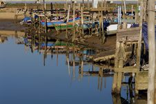Free Wood Harbour Royalty Free Stock Image - 545496