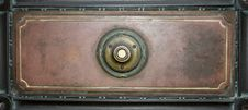Free Antique Door Bell 3 Stock Photography - 545552