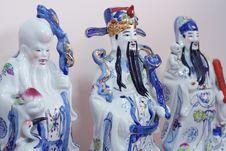 Free Fu Lu Shou Royalty Free Stock Photography - 545767
