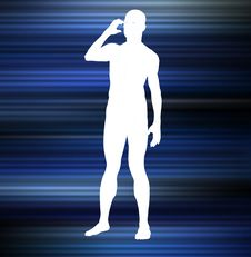 Free Man Shape 29 Stock Photography - 546522