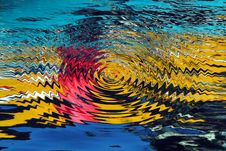 Colorful Waves Stock Photo