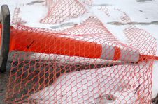 Free Orange Construction Cone Stock Image - 547081