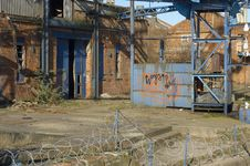 Free Derelict Factory Royalty Free Stock Image - 547086