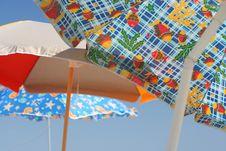 Beach Umbrellas Royalty Free Stock Photo