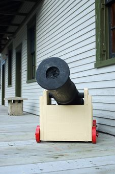 Free Toy Cannon Royalty Free Stock Image - 547916