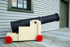 Toy Cannon Stock Image