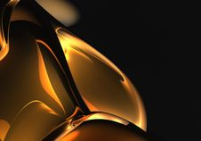 Free Orange Space (abstract) 02 Stock Image - 548371