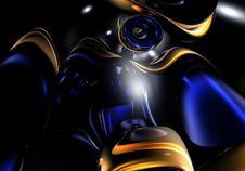Free Blue Space (abstract) 02 Royalty Free Stock Images - 548429