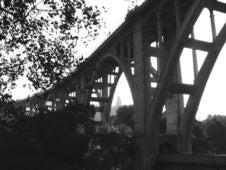 Free Colorado Street Bridge Royalty Free Stock Photos - 548748