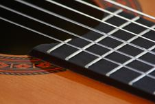 Free Guitar Strings Royalty Free Stock Photos - 549198