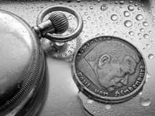 Free German Coin Royalty Free Stock Images - 549669