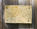 Free Sponge On Wooden Background Royalty Free Stock Photography - 5408697