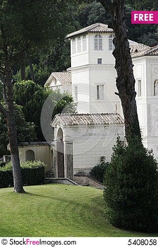 Free Garden, Vatican City, Italy Royalty Free Stock Photos - 5408058