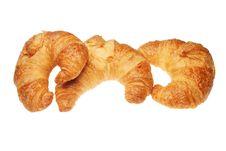Free Three Croissants Stock Photos - 5400053