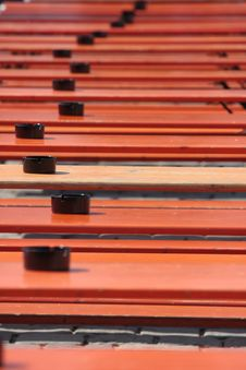 Free Orange Ale Benches Stock Images - 5400284