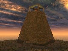 Free Lighthouse On Sundown Royalty Free Stock Photo - 5400625