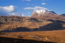 Free Slioch Evening Stock Images - 5401034