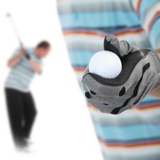 Free Golfer1 Royalty Free Stock Images - 5401219