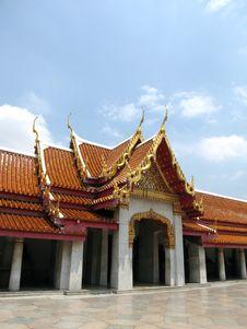 Free Marble Temple, Bangkok Stock Image - 5401251