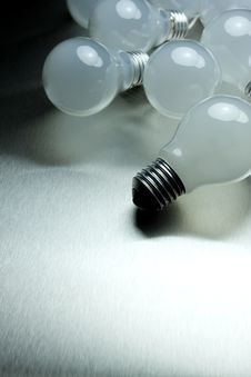 Free Series Of Lightbulbs Stock Images - 5401334