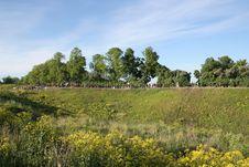 Free Blossoming Hills In Estonia Stock Photo - 5402660