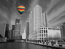 Free The Chicago Skyline Royalty Free Stock Photography - 5403077