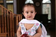 Free Baby Girl Royalty Free Stock Photography - 5403477
