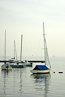 Free Sailboat Moorings Royalty Free Stock Photos - 5403708