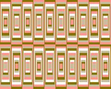 Retro Symmetrical Squares Background Royalty Free Stock Photo