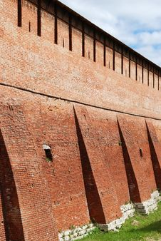 Free Fortress Wall Royalty Free Stock Photo - 5404045