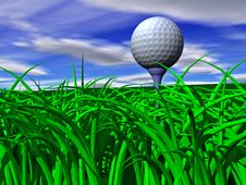 Free Tee Off Stock Photography - 5404122