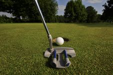 Free Pitch And Putt Stock Photography - 5404162