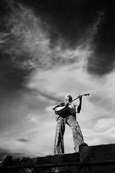 Free Banjo Player Stock Photo - 5404810