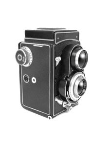 Free Old Photo Camera Stock Photography - 5404942