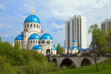 Free Russian Orthodox Church Royalty Free Stock Photography - 5405247